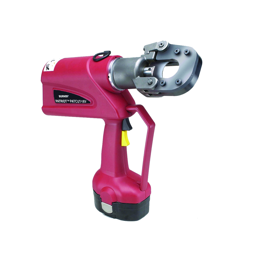 Burndy PATCUT129ACSR18VDC 2.6 Ah Nickel Metal Hydride 1.29 Inch 180 Degrees Head Hydraulic Self Contained Cable Cutter