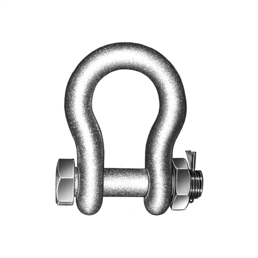Hubbell Power AS50BNK 60000 lb Forged Steel Anchor Shackle