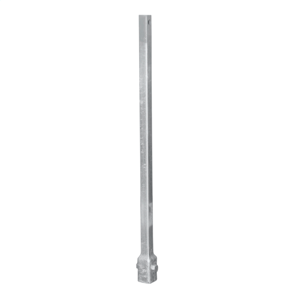 Hubbell Power C1100470 5 Foot 1-1/2 Inch Round Corner Square Shaft Extension
