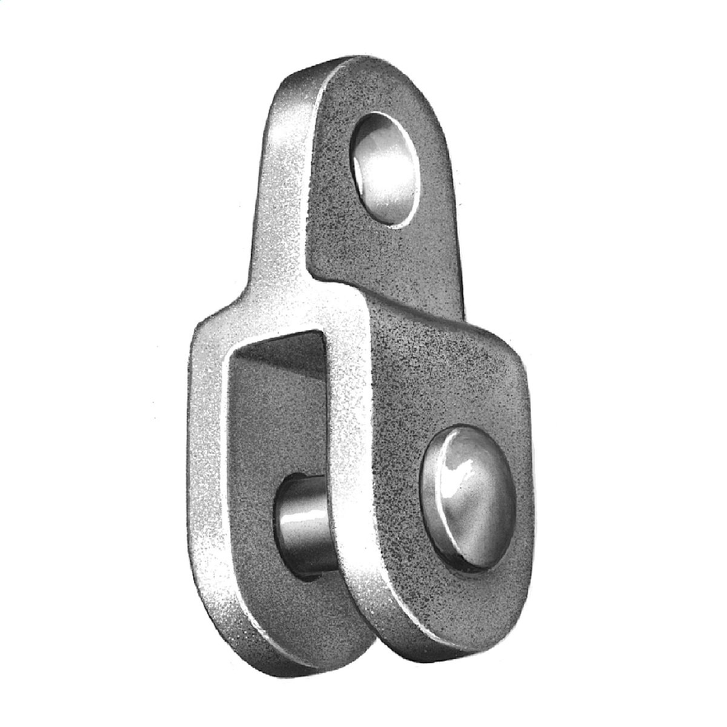 Anderson CA16 25000 lb Galvanized Ductile Iron Clevis Eye