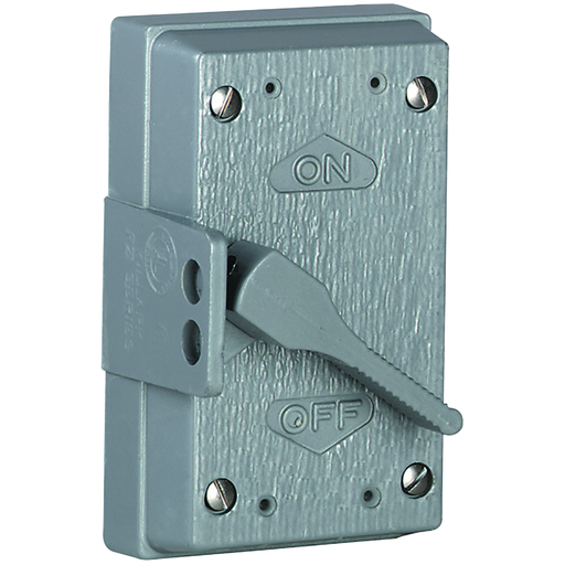 FZ SERIES FITTINGS - DEVICE BOX ACCESSORIES - STANDARD AND HOSTILELOCATIONS - SQUARE TOGGLE HANDLE