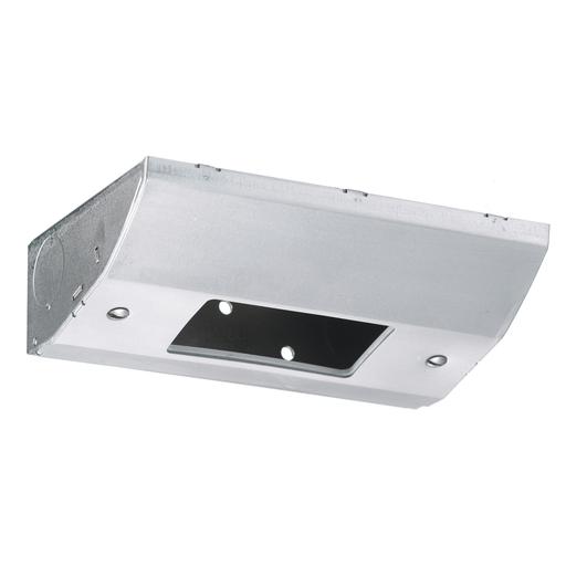 Under Cabinet Distribution Box, Slim, Metallic, Stainless Steel
