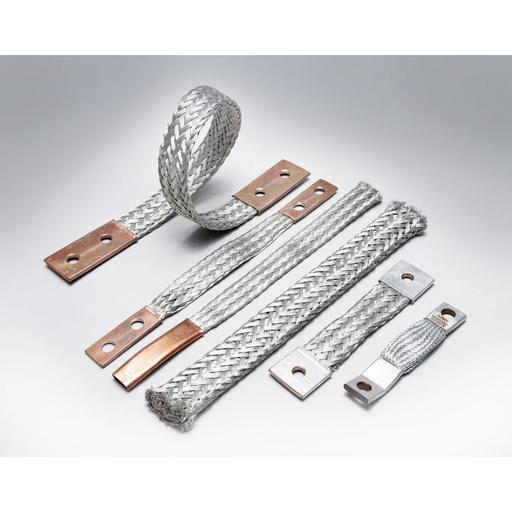 Flexible Copper Braid, 24 in L.