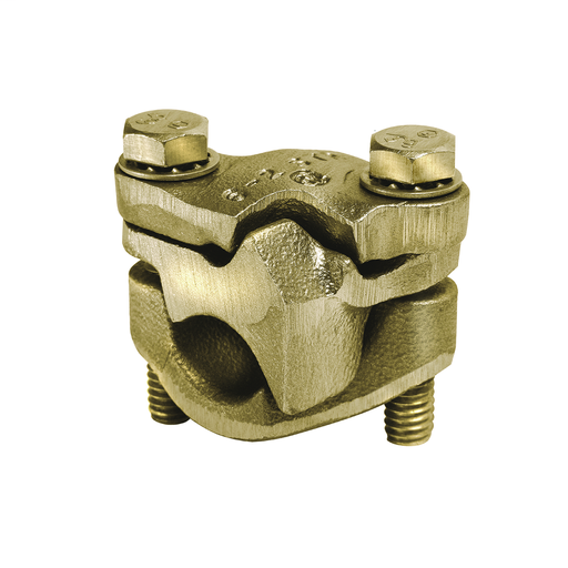 VERSITAP™ Mechanical Parallel Clamp for Copper/Copperweld; Accommodates: Run: #1 - 4/0 AWG; Tap: #1 - 4/0 AWG.