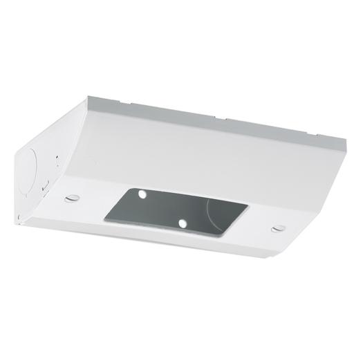 Under Cabinet Distribution Box, For GFCI, Non-Metallic, White