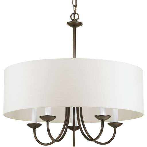 Mayer-Five-Light Chandelier with a Drum Shade-1