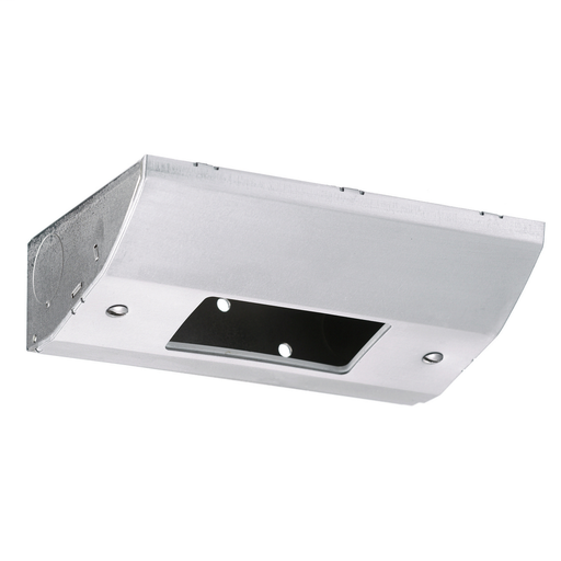 Under Cabinet Distribution Box, For GFCI, Metallic, Stainless Steel