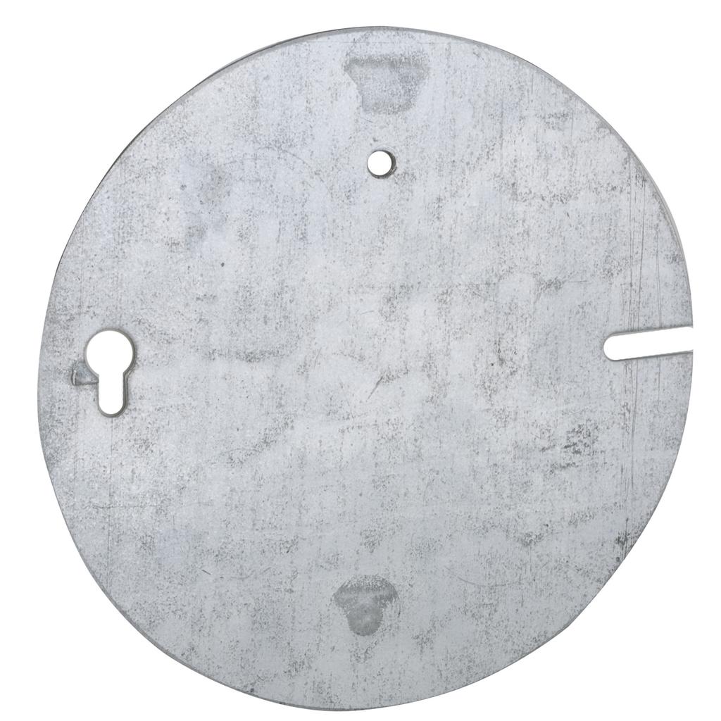 Raco 892 Steel Flat Blank Concrete Box Plate