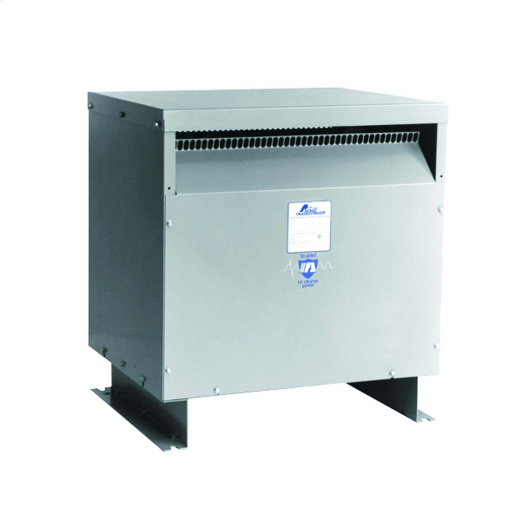 Drive Isolation Transformer - Three Phase, 460Δ - 460Y/266V, 51kVA