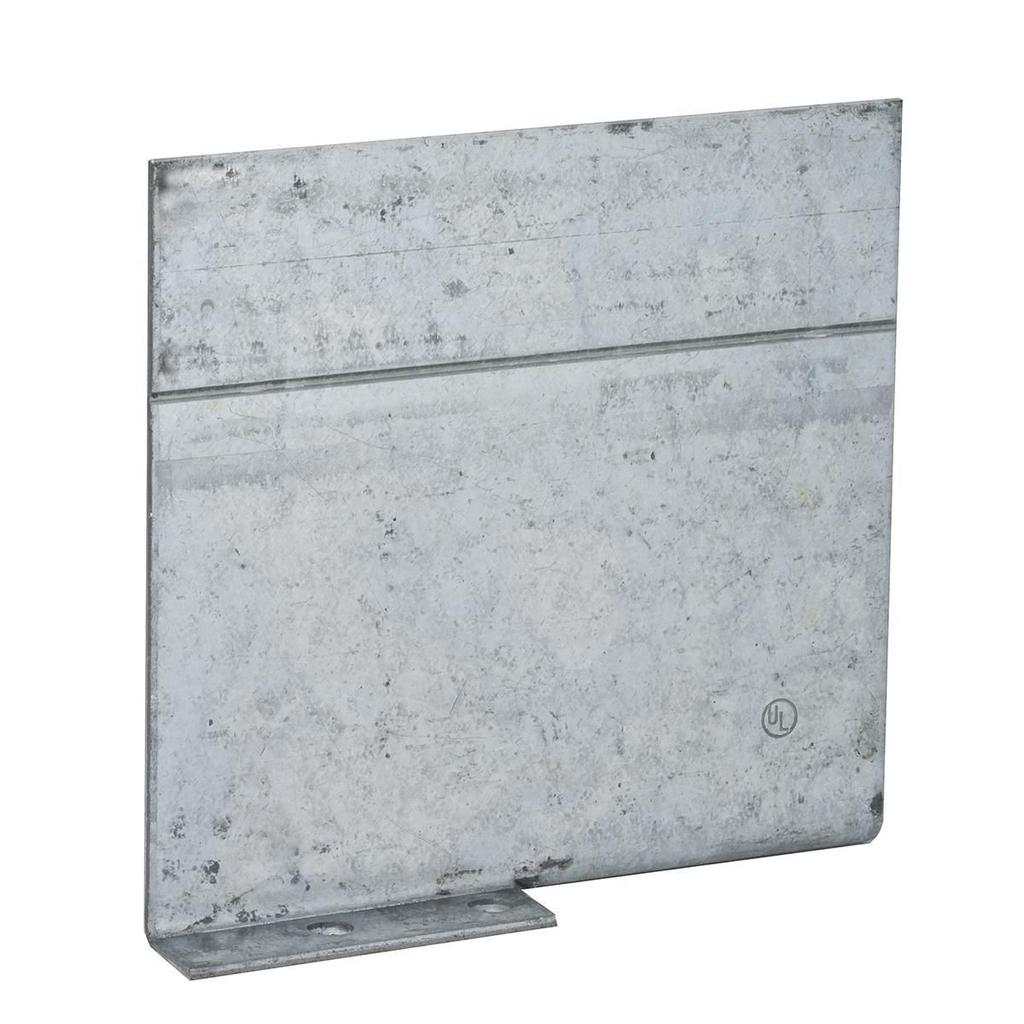 RACO 971 2-1/2 or 3-1/2 Inch Pre-Galvanized Steel Non-Gangable Masonry Box Low Voltage Partition