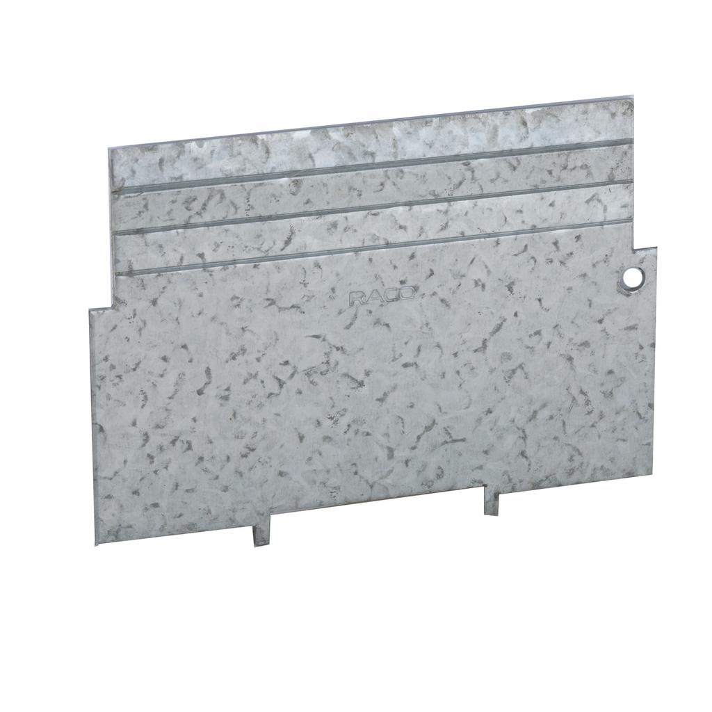 RACO 706RAC 4 x 4 x 1-1/2 Inch Pre-Galvanized Steel Square Box Low Voltage Partition