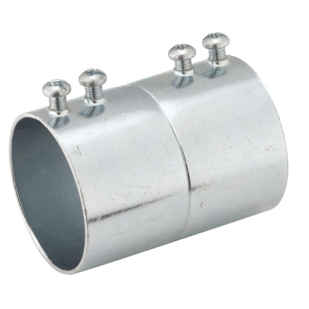 Raco 2150 2-1/2 Inch Steel Set Screw EMT/Rigid Conduit Coupling