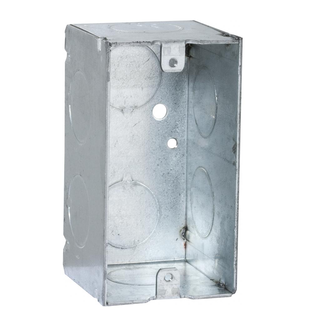 Raco 674 4 x 2-1/8 x 2-1/8 Inch 14.5cu.in Steel Utility Box