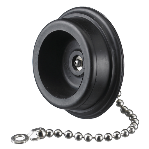 Locking Devices, Twist-Lock®, Industrial, Cover for Flanged Inlets, 50A, Black