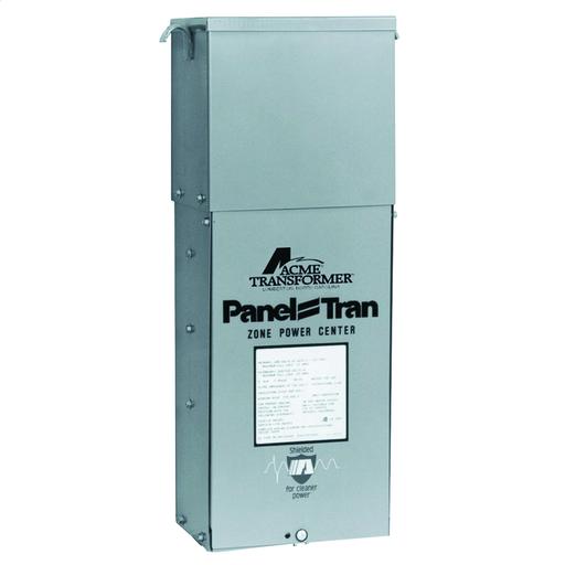 Panel Tran Zone Power Centers - Single Phase, 480 - 120/240V, 10kVA, Snap In Breakers