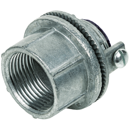 WH SERIES FITTINGS - CONDUIT HUBS - WH WEATHERPROOF CONDUIT HUBS - NPTHUB SIZE 2 IN - WITH GROUNDING SCREW