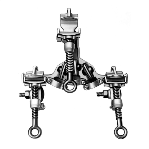 """Ground Clamp Cluster, C-Type, Type I-Class A-Grade 3, .998"""" Jaw Opening"""