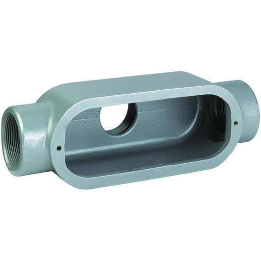 DURALOY 8 SERIES - IRON CONDUIT BODY - TB TYPE - HUB SIZE 3/4 INCH -VOLUME 10.0 CUBIC INCHES