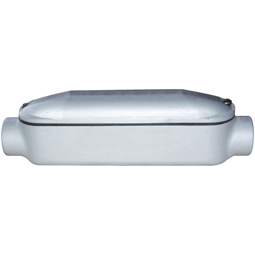 MO SERIES - IRON MOGUL CONDUIT BODY WITH COVER AND GASKET - C TYPE -HUBSIZE 2 INCH - VOLUME 144.0 CUBIC INCHES