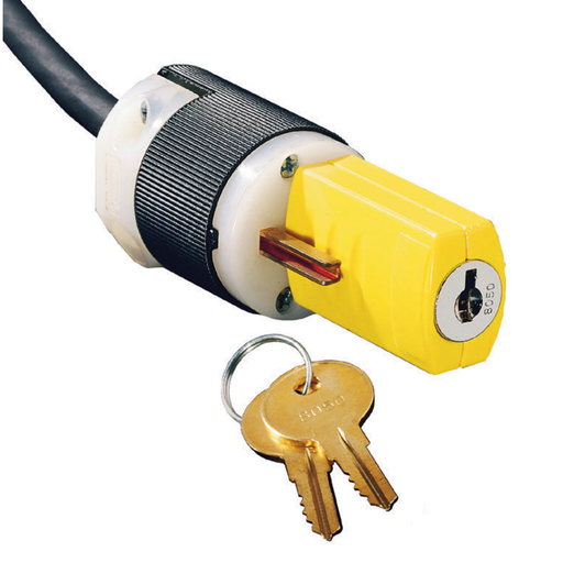 Keyed Lockout Device, for Plug, 2 Pack