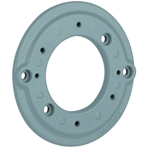 V SERIES - V ADAPTER MOUNTING PLATE - ADAPTS FIXTURE BODY TO VB/VJ/STEEL3-1/2 IN AND 4 IN SPLICE BOXES - SUPPLIED WITH GASKET