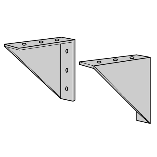 Wall Mounting Kit for Ventilated Unit