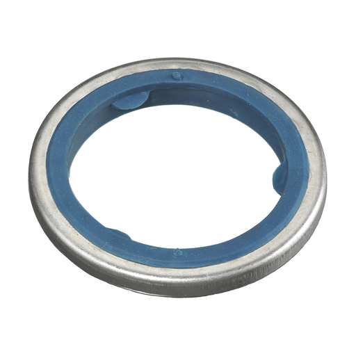 """Kellems Wire Management, Sealing O-Ring, Zinc-Plated Steel with Neoprene Ring, 1"""""""