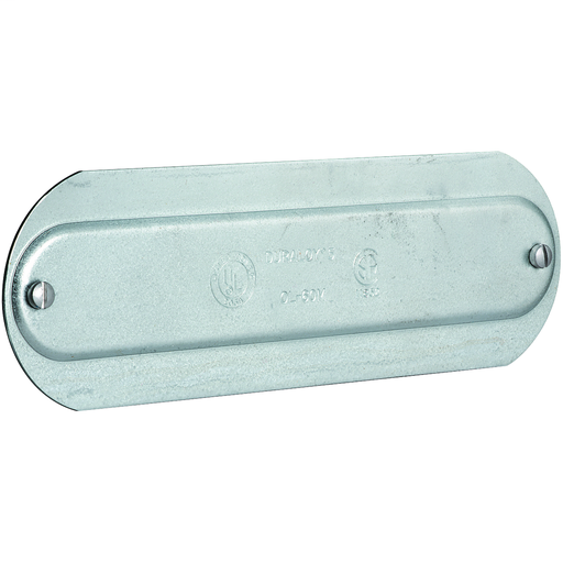 O SERIES/DURALOY 5 SERIES - ALUMINUM CONDUIT BODY COVER - HUB SIZE 1/2INCH