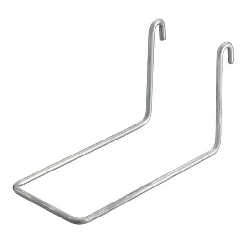 "Wire Basket Tray, Overhead Tray, Accessories, Fitting Attachment, 2"" Cap, Pre-Galvanized"