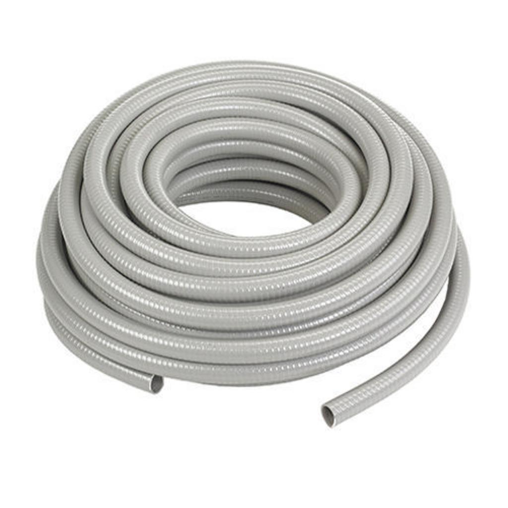"Mayer-Kellems Wire Management, Liquidtight System, Non-Metallic PolyTuff® I Conduit, Gray, 1-1/2"", 50 feet-1"