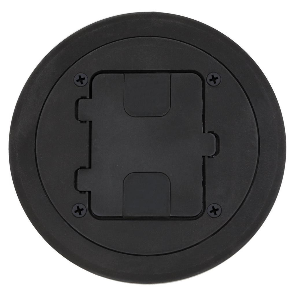 Mayer-Floor and Wall Boxes, Door Only for RF400, Non-Metallic, Black-1