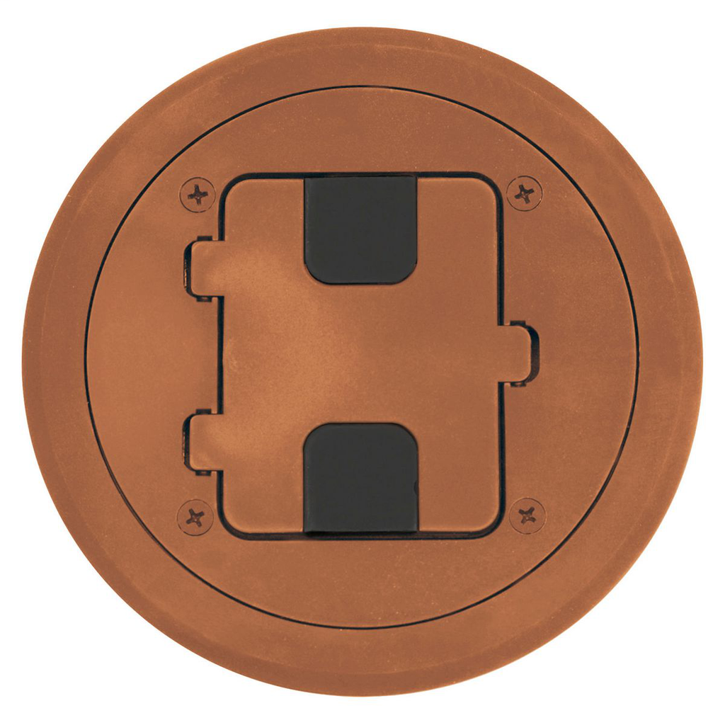 Mayer-Floor and Wall Boxes, Door Only for RF400, Non-Metallic, Brown-1