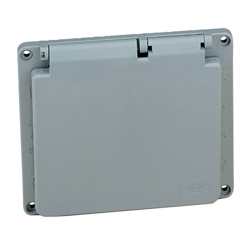 Temporary Power Products, Spider II Portable Power, Replacement Parts, Circuit Breaker Cover, 60A 3-Phase Wye 120/208V AC