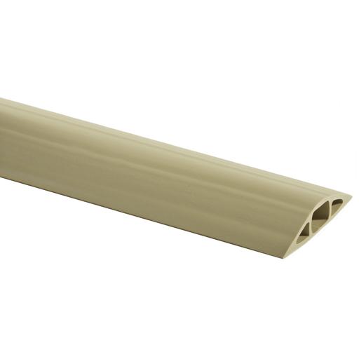Mayer-Kellems Wire Management, FloorTrak Flexible Non-Metallic Cover for Cables, Size 3, Beige, 5'-1