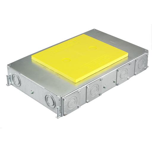 "6-Gang CFB Series Box for Rectangular Covers, 3.00"" Minimum Depth of Pour"