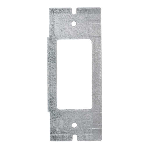 Mayer-Concrete, Access, Wood Floorboxes, Recessed, 2, 4, & 6-Gang Series, Mounting Plate, 1-Gang, (1) StyleLine/Decorator Opening-1