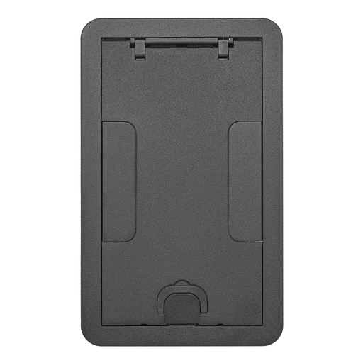 CFB2G & CFB4G Rectangular Series, Surface Cover Assembly, Black Powder Paint Finish