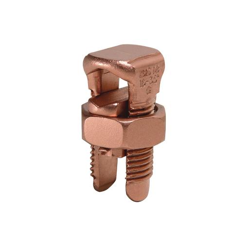 Mayer-Copper Split Bolt, Cu: 6 AWG-2 AWG (Str) (Run & Tap)-1