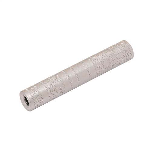 Mayer-Single aluminum sleeve designed for service drop or short span overhead distribution lines, Die index:BG-1