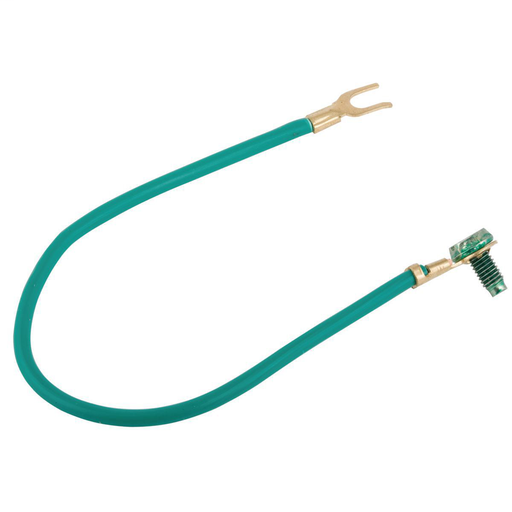 #14 Stranded Insulated Copper Wire Pigtail, 8 in. Length (100/BE)