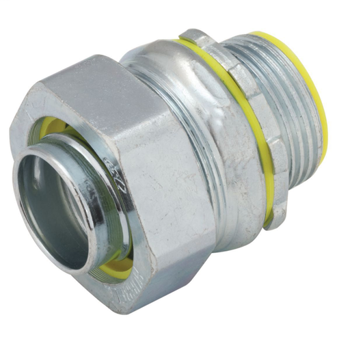 1 in. Liquidtight Straight Connector, Insulated redirect to product page