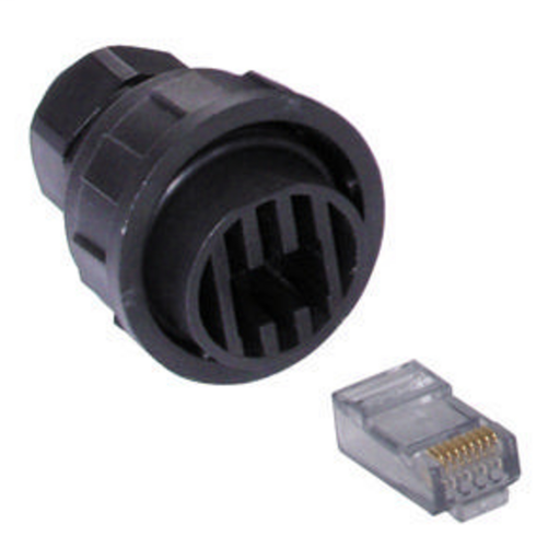 Plug, Hi-Impact System, Field Wired Termination Kit, Cat6