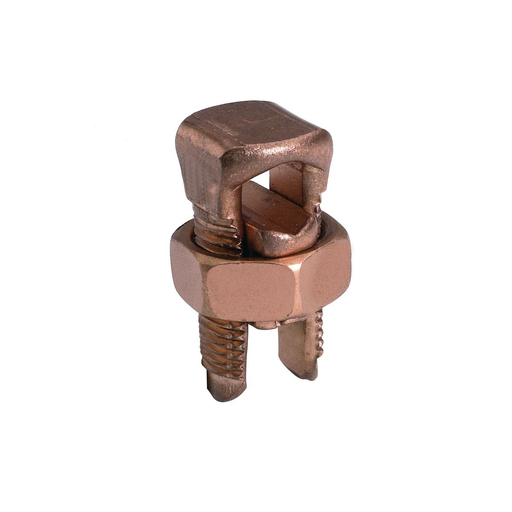Mayer-Copper Split Bolt, Cu: 6 AWG (Str)-2 AWG (Sol) (Run & Tap)-1