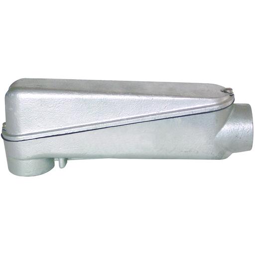 "1"" LB Hub, Aluminum Mogul Conduit Body redirect to product page"