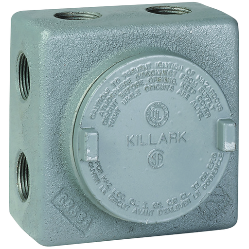 """1/2"""" Aluminum GRSSA Outlet Body, 13 Hub Configuration redirect to product page"""