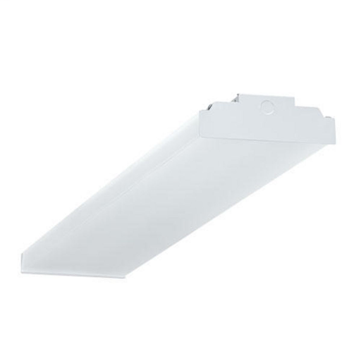 Mayer-CWP LED wrap luminaire, 4 ft, Lens Type: frosted acrylic lens, 4000 K, 80+ CRI, 4584 lm, 36.9 W, 0-10V dimming driver, 120-277 V.-1