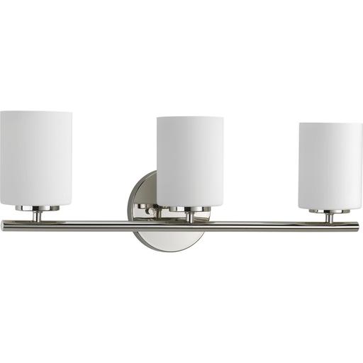 Mayer-Three-Light Polished Nickel bath and vanity light-1
