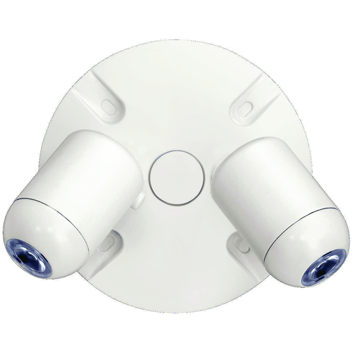 EVO, Twin Outdoor Remote lighting head, Lamp Type: LED, Lamp Wattage: 2, Number of Lamps: 2, Color: White, Voltage Rating: 4.8.