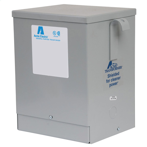 Buck-Boost Transformer - Single Phase, 120 X 240 - 12/24V, 3kVA redirect to product page