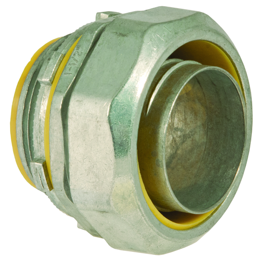 1 in. Liquidtight Straight Connector, Uninsulated redirect to product page